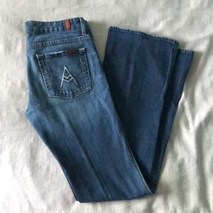 "7 for all Mankind ""A"" Pocket Bootcut sz. 29"